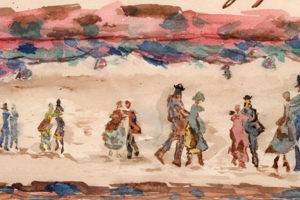 La Côte Saint-André au XIXe siècle à l'époque de Jongkind