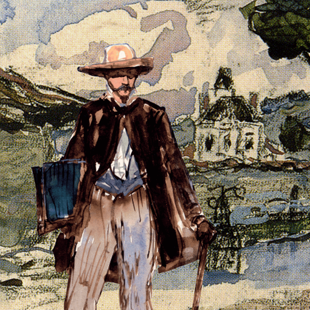 Portrait Jongkind - La Fête à Jongkind